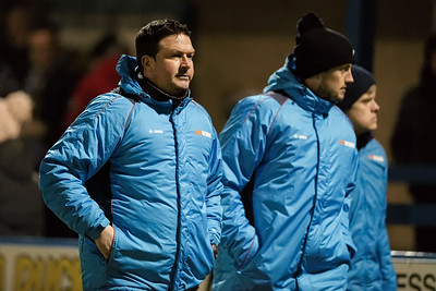 Sport: 14 February 2018 - Paul Cox, Manager Guiseley AFC