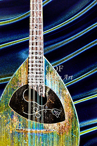 115 .1845 Framus Mandolin Drawing
