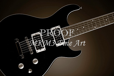 Electric Guitar Image Fine Art  Print 4163.01