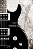 Black Electric Guitar Image Music Art 3324.01