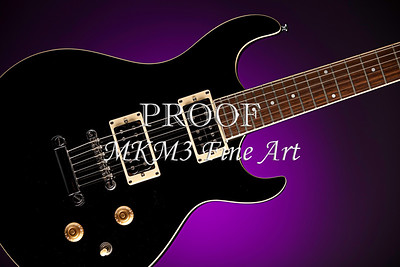 Electric Guitar Image Fine Art  Print in Color 4162.02