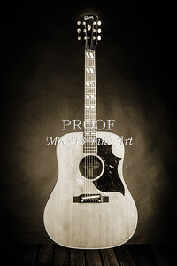 546.1834 Gibson Country Western Guitar BW