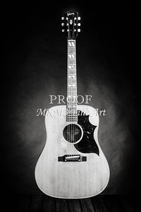 547.1834 Gibson Country Western Guitar BW