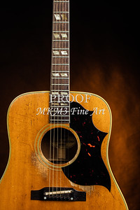 510.1834 Gibson Country Western Guitar Color