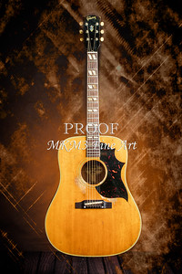508.1834 Gibson Country Western Guitar Color
