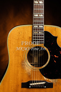 515.1834 Gibson Country Western Guitar Color