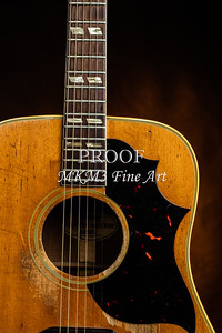 511.1834 Gibson Country Western Guitar Color