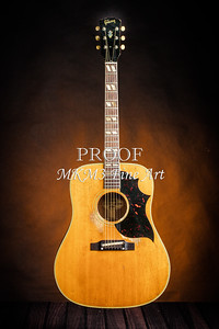507.1834 Gibson Country Western Guitar Color
