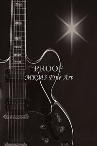 Wall Art Sky Gibson Guitar Image 1744.009