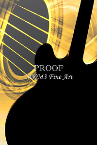 Gibson Guitar Image in Silhouette 1744.02