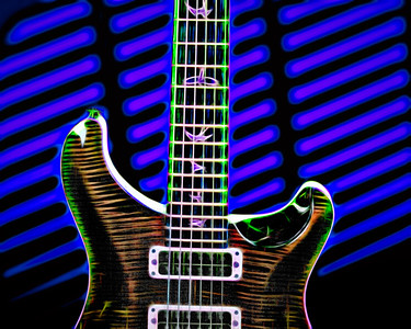 Painting of Paul Reed Smith Guitar 705.2110