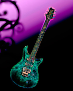 Painting of Paul Reed Smith Guitar 702.2110
