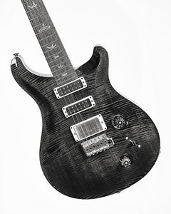 Paul Reed Smith Guitar in Black and White 238.2110