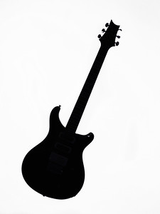 Paul Reed Smith Guitar in Black and White 242.2110
