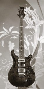 Paul Reed Smith Guitar in Black and White 202.2110