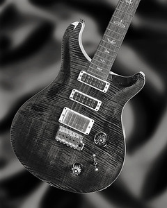 Paul Reed Smith Guitar in Black and White 204.2110