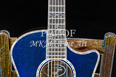 403.1837 Taylor 914C Guitar Drawing
