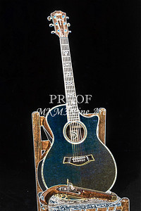 401.1837 Taylor 914C Guitar Drawing