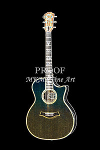 406.1837 Taylor 914C Guitar Drawing