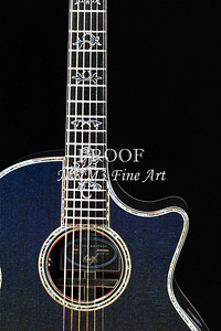 412.1837 Taylor 914C Guitar Drawing