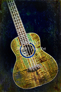 314 .1846 Kanile K3 Tenor Ukulele Drawing