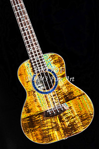 313 .1846 Kanile K3 Tenor Ukulele Drawing