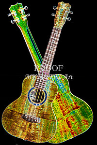 302 .1846 Kanile K3 Tenor Ukulele Drawing