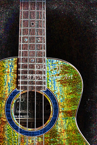 312 .1846 Kanile K3 Tenor Ukulele Drawing
