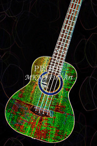 316 .1846 Kanile K3 Tenor Ukulele Drawing