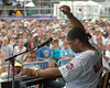 Robert Randolph performs at the New Orleans Jazz & Heritage Festival on May 6, 2006.