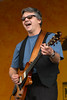 Steve Miller performing live on stage at the New Orleans Jazz & Heritage Festival on April 29, 2004.