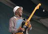 Buddy Guy performs at the New Orleans Jazz & Heritage Festival on April 23, 2005.