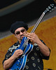 Leo Nocentelli performs at the New Orleans Jazz & Heritage Festival on April 22, 2005 with the New Orleans All-Stars tribute to Allen Toussaint.