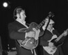 Danny Gatton and Lance Quinn performing live with Robert Gordon at the Berkeley Square in Berkeley, CA on May 10, 1981.