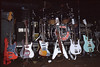 David Lindley's guitars at the Keystone Berkeley in 1984.