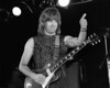 Nigel Tuftnel performs with Spinal Tap at the Old Waldorf on June 25, 1984
