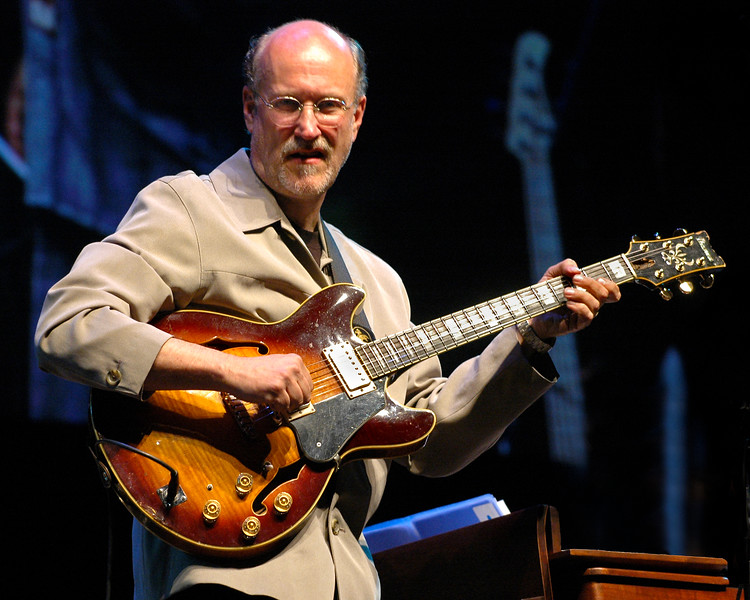 John Scofield performing at the Monterey Jazz Festival on September 17, 2005.