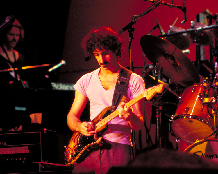 Frank Zappa at the Berkeley Community Theater in 1981