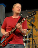 Derek Trucks performing with the Derek Trucks Band at the New Orleans Jazz & Heritage Festival on May 4, 2008.