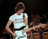 Jeff Beck perfoming at the A.R.M.S. benefit concert at the Cow Palace in San Francisco on December 3, 1983.