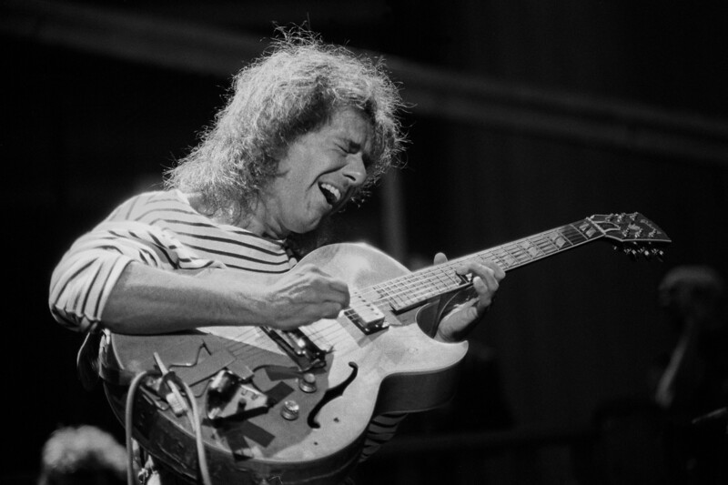 Pat Metheney performs at the Greek Theater in Berkeley, CA on July 28, 1995
