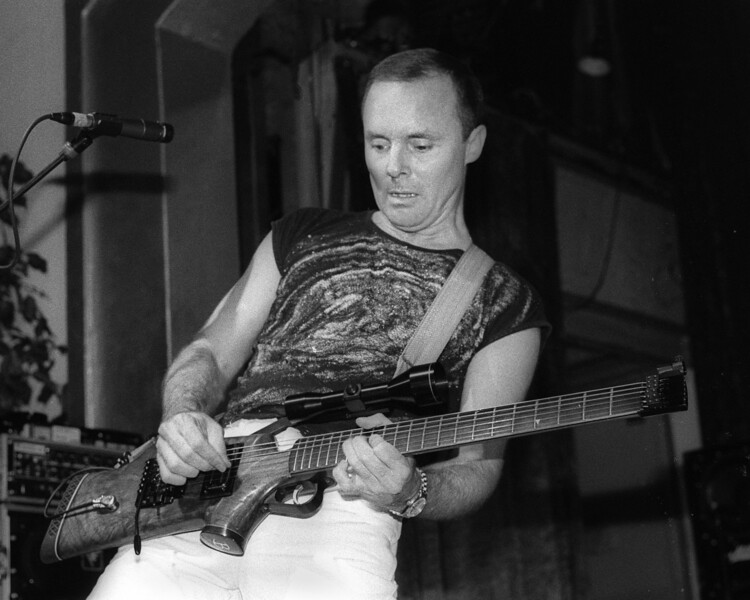 OAKLAND, CA-JANUARY 1: Ronnie Montrose performs at the Omni in Oakland, CA in 1986. (Photo by Clayton Call/Redferns)