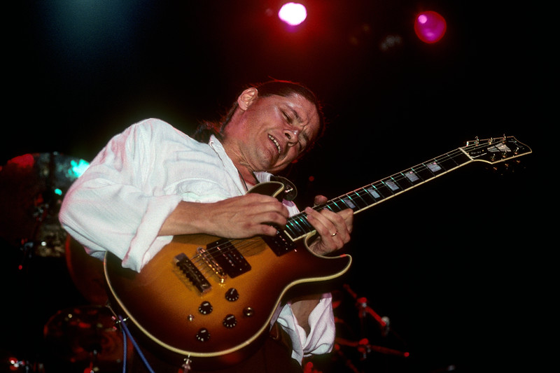 Robben Ford and The Blue Line perform at the Warfield Theater in San Francisco on September 22, 1990.