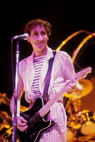 The Who perform at the Oakland Coliseum Arena on 10-25-82.