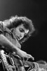 Joe Satriani perfoms at the Bay Area Music Awards (BAMMIES) on February 25, 1989