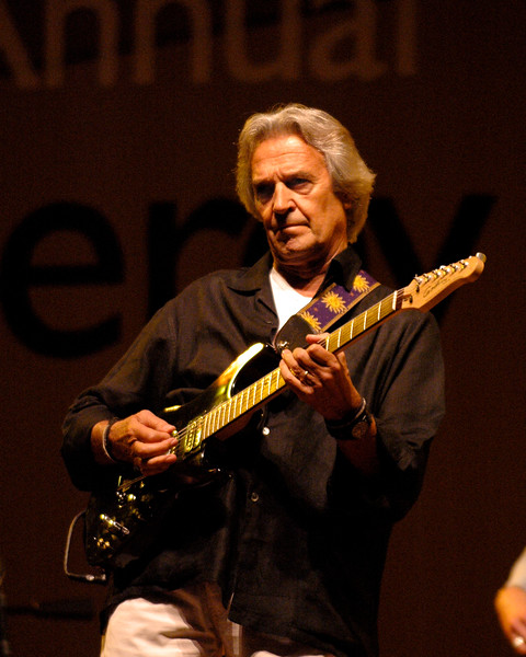 John McGlaughlin and the 4th Dimension perform at the Monterey Jazz Festival on September 21, 2007.