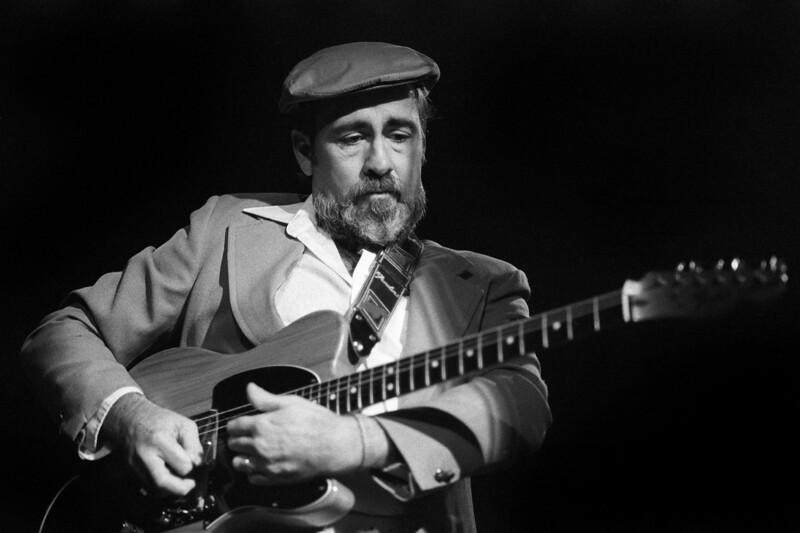 Roy Buchanan performs at the Keystone Berkeley in 1983.