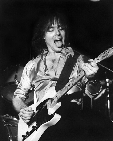 SAN FRANCISCO, CA-FEBRUARY 24: Ronnie Montrose performs at the Old Waldorf in San Francisco, CA on February 24, 1978. (Photo by Clayton Call/Redferns)