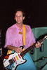Adrian Belew perfoming with The Bears at the Berkeley Square in Berkeley, CA on February 10, 1986.