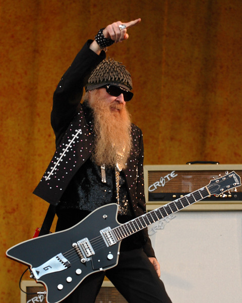 Billy Gibbons performs with Z.Z. Top at the New Orleans Jazz & Heritage Festival on May 4, 2007.